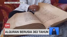 VIDEO: Alquran Berusia 363 Tahun