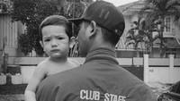 <p>Ibrahim kini baru berusia 1,5 tahun. Menggemaskan banget ya, Bunda? (Foto: Instagram @arya.saloka)</p>