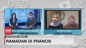 VIDEO: Ramadan di Prancis Pasca Aksi Vandalisme Islamofobia