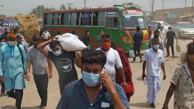 Bangladesh mendeteksi kasus pertama dari varian virus corona yang sangat menular yakni B1617.