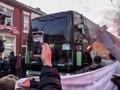 FOTO: Suporter Liverpool Rusak Bus Real Madrid