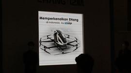 Mobil Terbang E-Hang Masuk RI Juli 2021