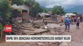 VIDEO: BNPB: 95% Bencana Hidrometeorologi Akibat Iklim