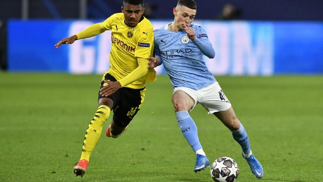 Manchester City masih bisa melanjutkan mimpi juara Liga Champions usai menyingkirkan Borussia Dortmund. Simak foto pilihan laga tersebut.
