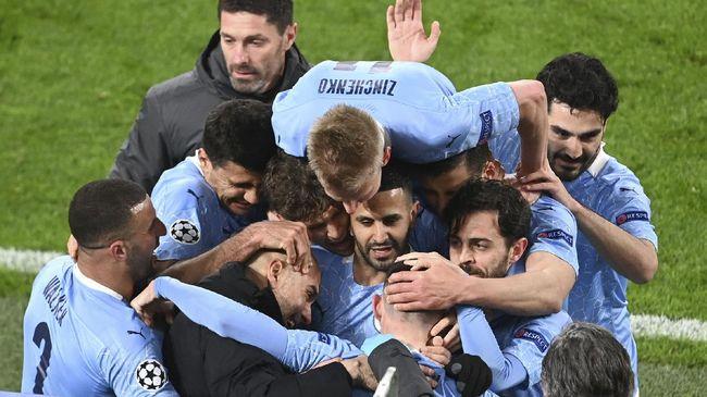Sebanyak tujuh fakta fakta menarik tersaji usai Manchester City resmi jadi juara Liga Inggris 2020/2021.