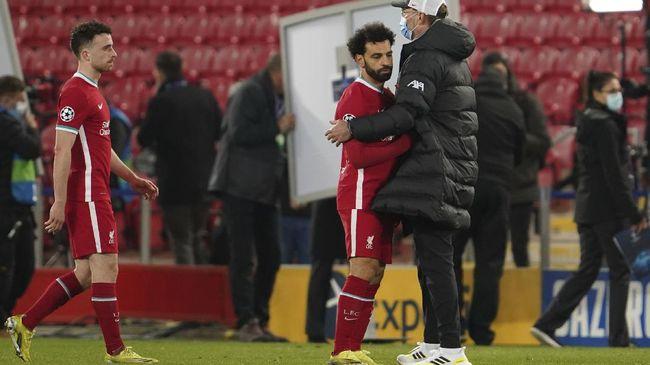 Pelatih Liverpool Jurgen Klopp punya alasan di balik kegagalan Liverpool melaju ke semifinal Liga Champions.