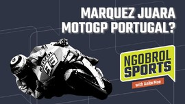 NGOBROL SPORTS: Marquez Juara MotoGP Portugal?