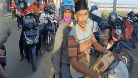 VIDEO: Warga Pulau Pilih Mudik Lebih Awal Sebelum Dilarang