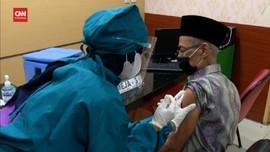 VIDEO: Lansia di Jakarta Sudah Bisa Vaksinasi di Puskesmas