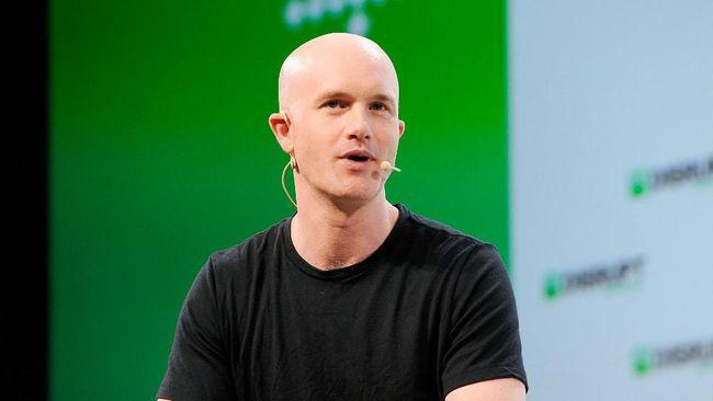 CEO Coinbase Bryan Armstrong masuk ke jajaran orang terkaya dunia setelah perusahaan jual beli aset kripto itu melantai di bursa saham.