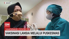 VIDEO: Vaksinasi Lansia Melalui Puskesmas DKI Jakarta
