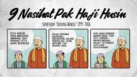 INFOGRAFIS: 9 Nasihat Pak Haji Husin di 'Lorong Waktu'