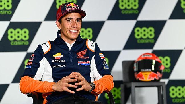 Kondisi yang belum 100 persen membuat Marc Marquez akan jadi pembalap berbeda di MotoGP Portugal 2021, 16-18 April 2021.