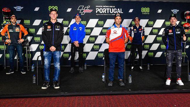 Lima rival, termasuk Fabio Quartararo dan Maverick Vinales, merespons comeback Marc Marquez di MotoGP Portugal 2021.