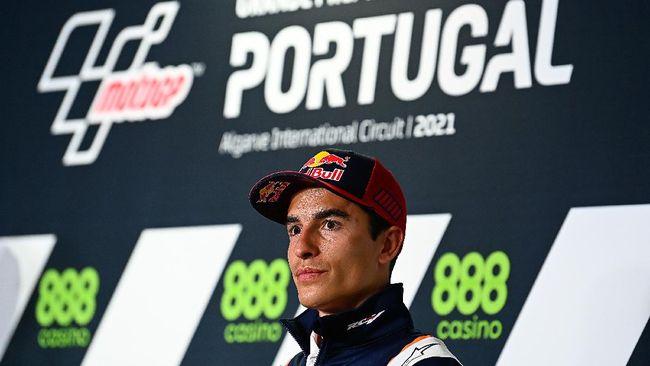 Marc Marquez resmi tampil di MotoGP Portugal 2021 setelah lolos tes medis dan Manchester United menang di Liga Europa menjadi berita olahraga terpopuler.