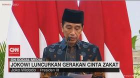 VIDEO: Jokowi Luncurkan Gerakan Cinta Zakat