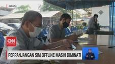 VIDEO: Perpanjangan SIM Offline Masih Diminati