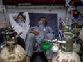 Stok Oksigen di India Menipis Akibat Lonjakan Kasus Corona