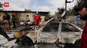 VIDEO: Bom Bunuh Diri di Pasar Kota Baghdad, 4 Tewas