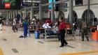 VIDEO: Stasiun Senen Dipadati Pemudik