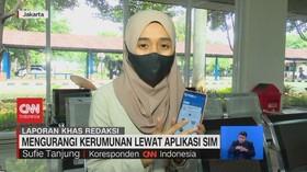 VIDEO: Mengurangi Kerumunan Lewat Aplikasi SIM