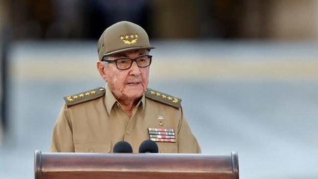 Raul Mundur dari Partai Komunis, Era Castro di Kuba Selesai