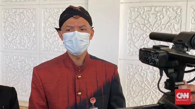 Gubernur Jateng Ganjar Pranowo meminta laporan perkembangan penelitian dari tim vaksin Nusantara yang digagas Menkes Terawan Agus Putranto.