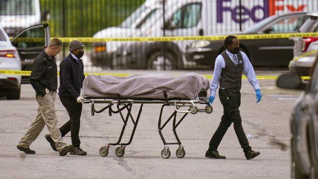 Kepolisian Indianapolis, Amerika Serikat, mengungkap nama 8 korban tewas dalam penembakan di gedung perusahaan logistik FedEx.