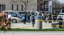 FOTO: Melacak Jejak Penembakan Massal di FedEx AS