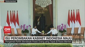 VIDEO:Isu Perombakan Kabinet Indonesia Maju
