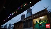 FOTO: Kampung Ramadan di Tengah Pencakar Langit Jakarta
