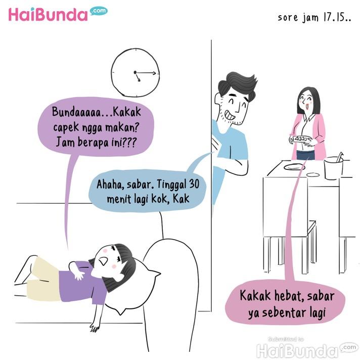 Komik HaiBunda, Kakak Puasa