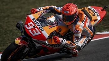 Alasan Marquez Menangis di MotoGP Portugal 2021