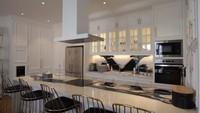 <p>Masih di lantai tiga, ruang berkumpul ini bisa nyambung dengan ruang makan dan dapur nih, Bunda. Dapurnya terlihat tak kalah mewah ya, Bunda. (Foto: YouTube: The Sungkar Family)</p>