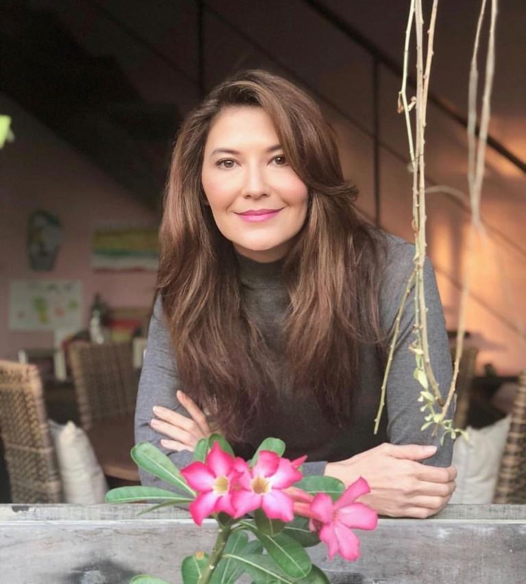 Tamara Bleszynki sedang curi perhatian karena geram membalas komentar netizen. Berikut ini tampilan Tamara Bleszynki!