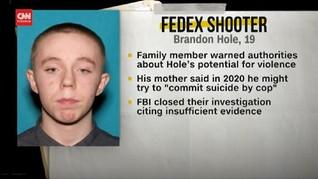 VIDEO: Pelaku Penembakan FedEx Pria Kulit Putih Usia 19 Tahun