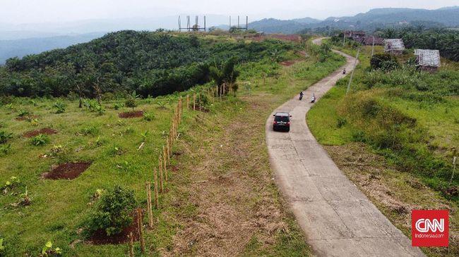 Calon kawasan Bukit Algoritma di Sukabumi telah mengalami beberapa kali gempa bumi yang merusak.