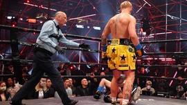 Hasil Tinju: Jake Paul Menang TKO Ronde 1
