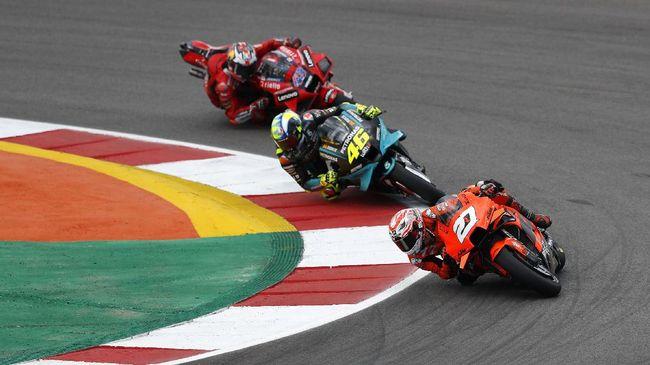 Link live streaming MotoGP Portugal 2021 dari Sirkuit Portimao bisa disaksikan melalui CNNIndonesia.com di sini.