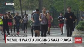 VIDEO: Memilih Waktu Jogging Saat Puasa