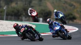 Dua pembalap bertukar posisi di MotoGP 2021, Valentino Rossi dan Fabio Quartararo, meraih hasil berbeda pada balapan MotoGP Portugal 2021.