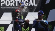 Quartararo Selebrasi Ala Ronaldo Usai Juara MotoGP Portugal