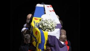 FOTO: Mengantar Jasad Pangeran Philip ke Pembaringan Terakhir