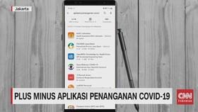 VIDEO: Plus Minus Aplikasi Covid-19