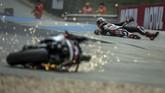 Foto-foto unik dari berbagai cabang olahraga kali ini menampikan kejuaraan renang, bisbol, sepak bola, Formula 1, hingga MotoGP.