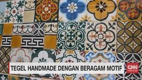 VIDEO: Tegel Handmade dengan Beragam Motif