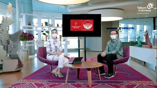 Keikutsertaan Telkom dalam ajang Hannover Messe 2021 menunjukkan komitmen perusahaan untuk menciptakan kedaulatan digital Indonesia.