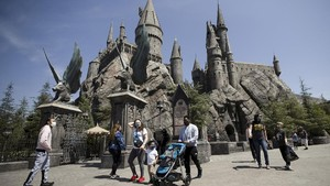 FOTO: Wahana Harry Potter Jadi Favorit di Universal Studios