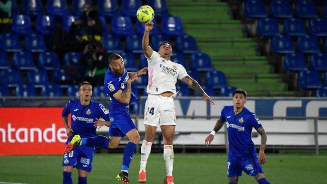 Real Madrid hanya meraih satu poin saat bertamu ke Stadion Alfonso Perez, markas Getafe, dalam lanjutan La Liga Spanyol, Senin (19/4) dini hari waktu Indonesia.