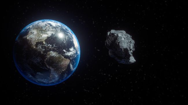 Asteroid seukuran nyaris dua kali tinggi Monumen Nasional (Monas) diprediksi akan melintasi Bumi pada 24 Juli.